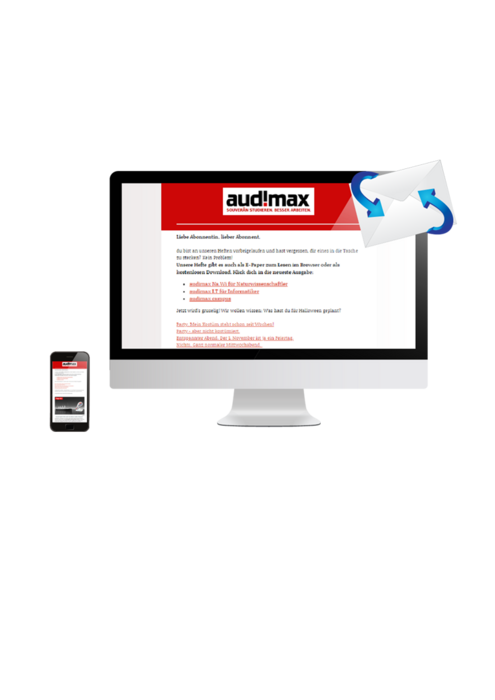 Personalmarketing mit audimax Newsletter